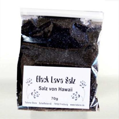 Black Lava Salz Hawaii