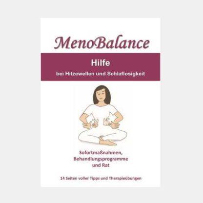 MenoBalance - Hilfe bei Hitzewellen und Schlaflosigkeit - E-Book