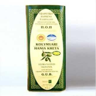 Olivenöl Kolymvari Chania - biologisch, 5L Kanister